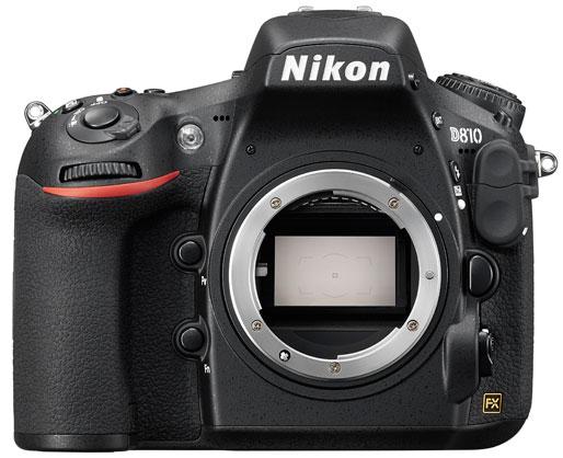 دوربین نیکون D810 با دو لنز