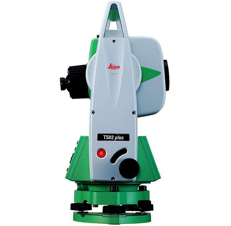 توتال لیزری لایکا TS02plusr500 دوربین نقشه برداری