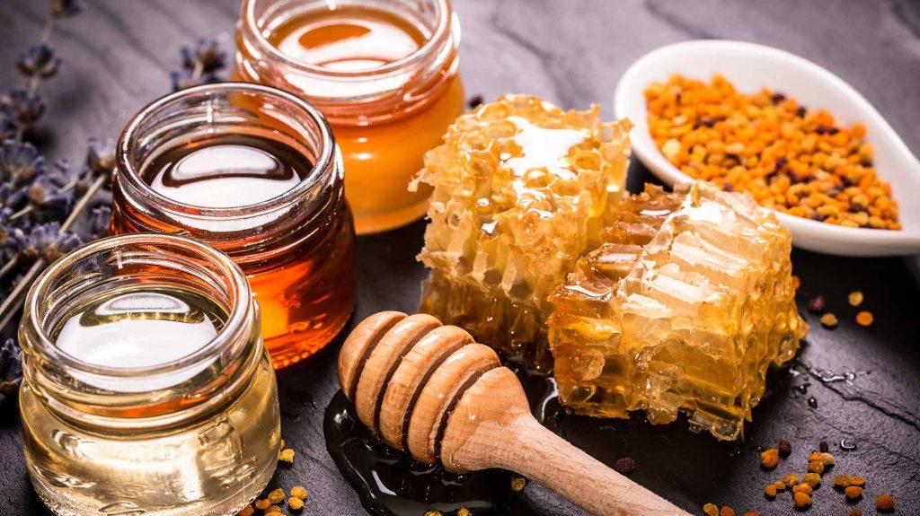عسل و فرآورده های زنبور عسل به صورت کلی و جزیی